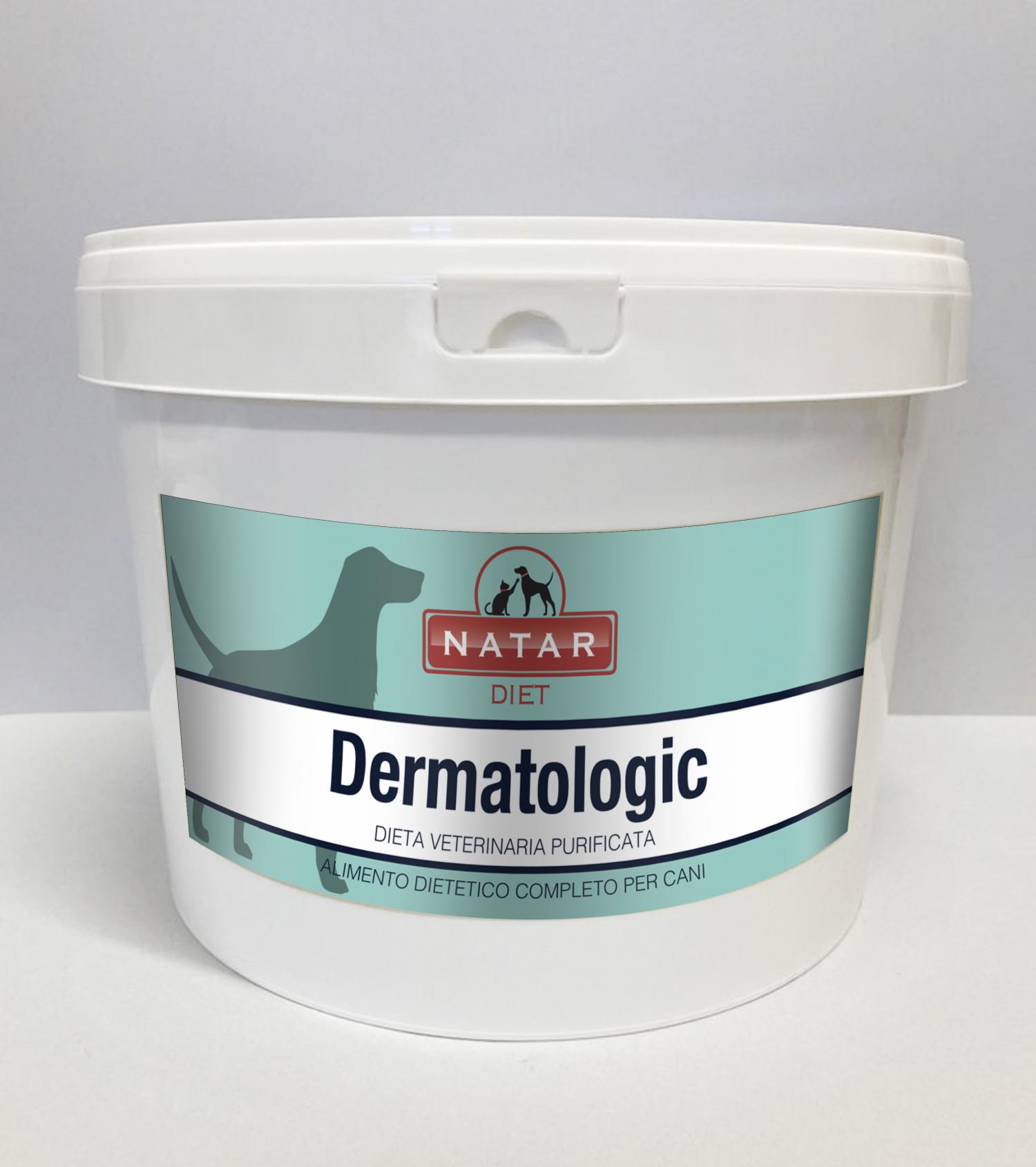 Natar Diet Dermatologic for dogs