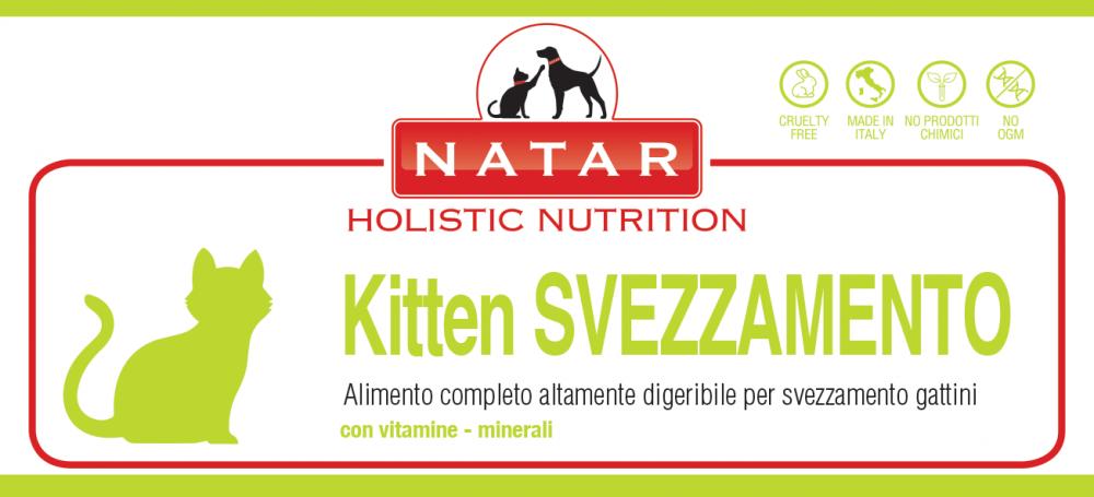 Natar Kitten Svezzamento, alimento sostitutivo del latte materno per lo svezzamento dei gattini