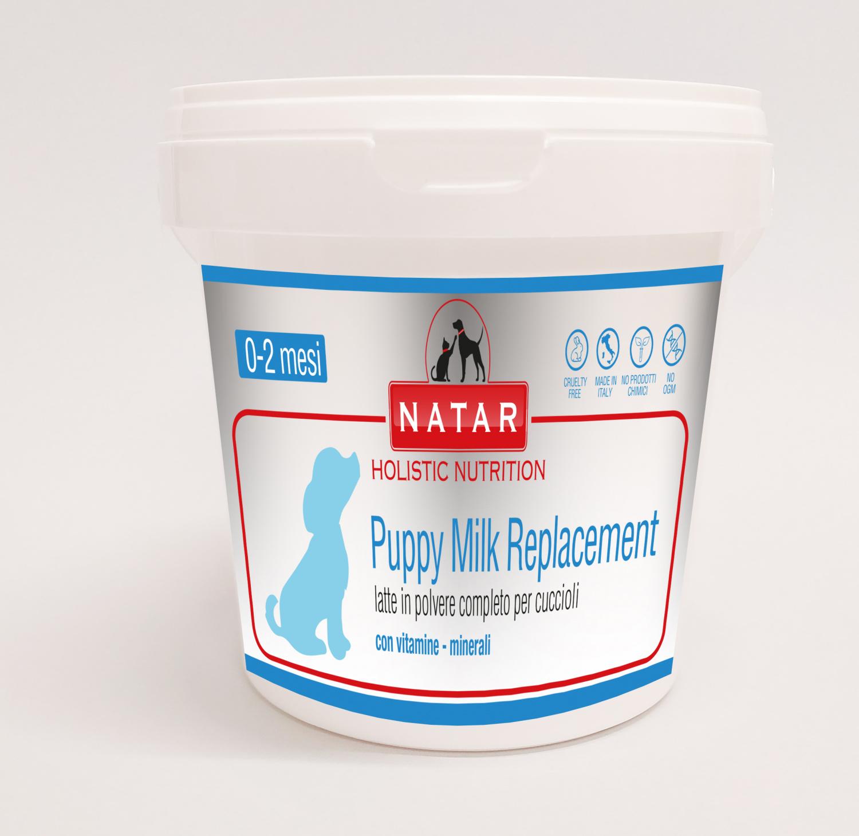 Natar Puppy Milk latte artificiale per l'allattamento dei cuccioli
