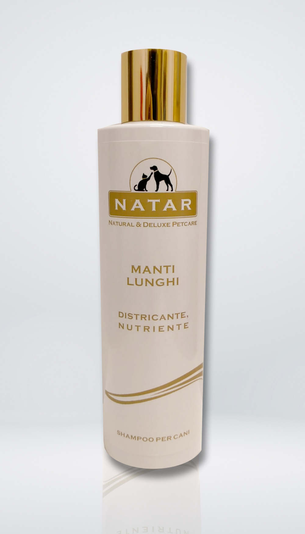 Natar Shampoo for dogs with long fur