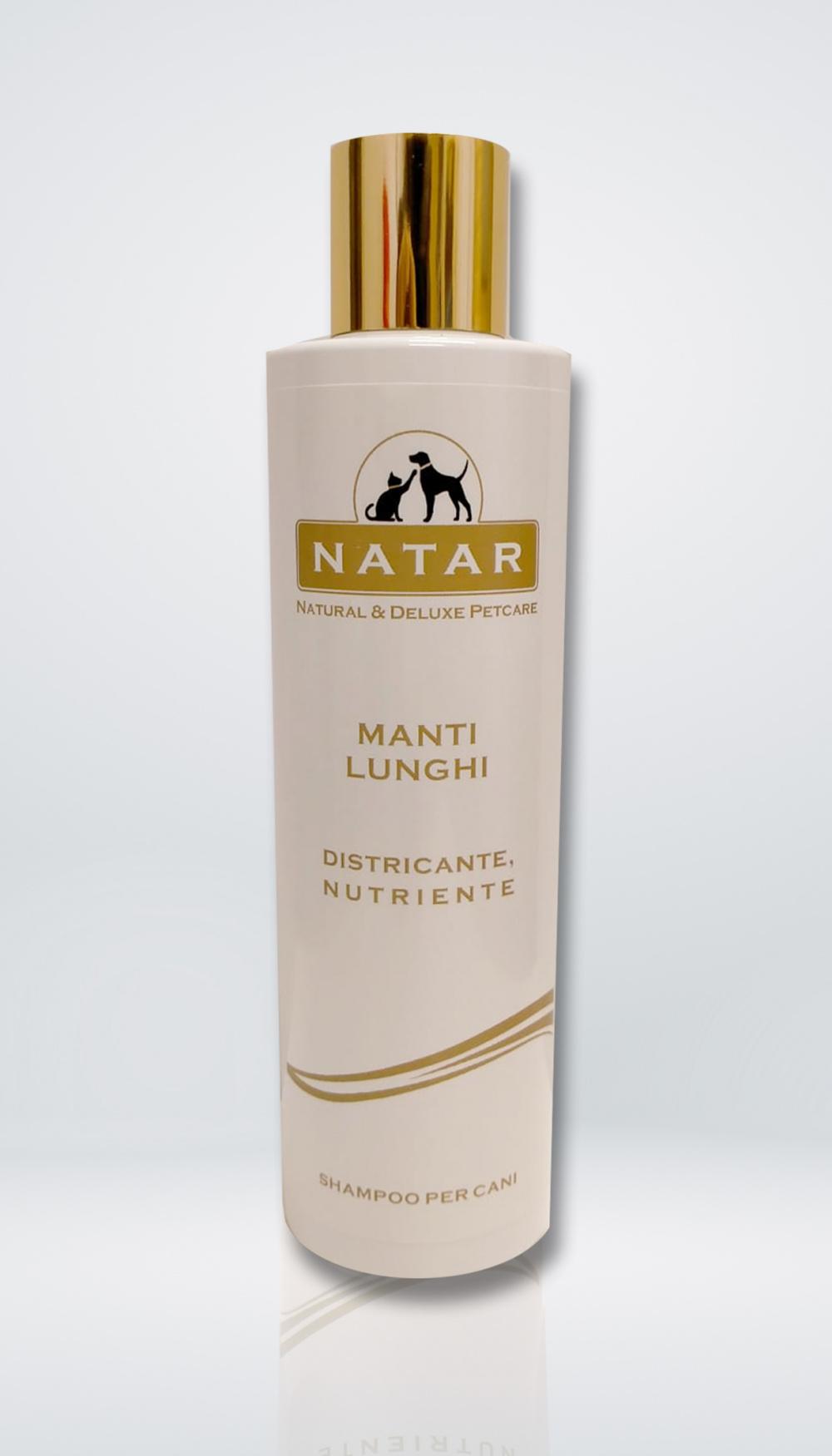 Natar Shampoo per Cani Manti Lunghi