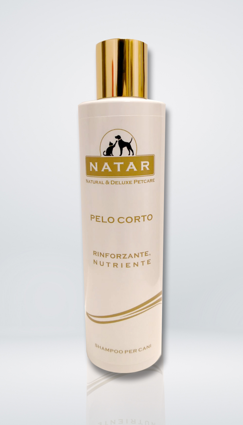 Natar Shampoo per cani con pelo corto
