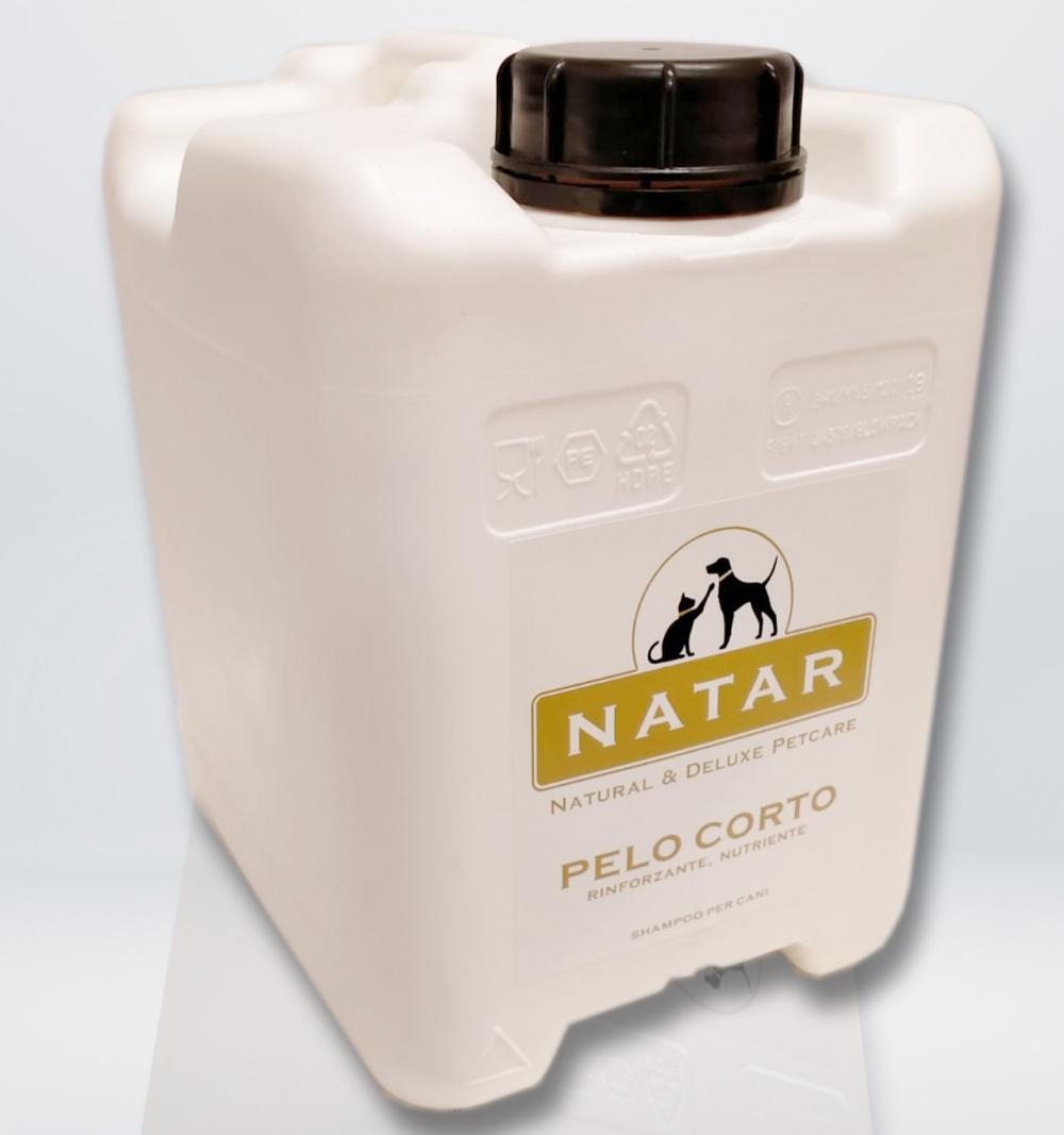 Natar Shampoo per Cani Pelo Corto tanica 5 L