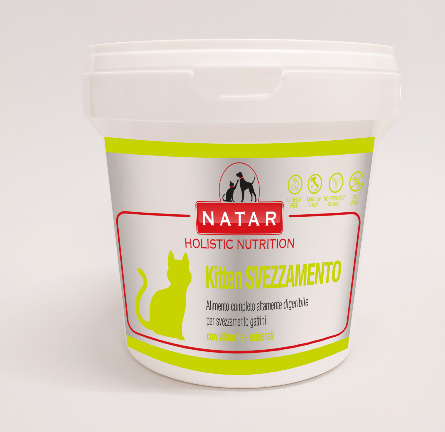 Natar Kitten Weaning, breast milk replacement food for the weaning of kittens
